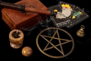 """Мастер-класс """"Ритуальная магия.Идеальные формы-символы  для управления магической энергией"""".Занятие №4. - Страница 2 4188757-wiccan-tools-tarot-cards-wand-pentacle-310x207"""