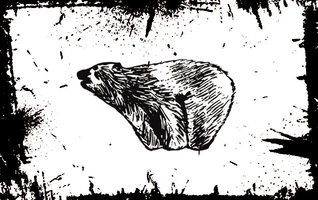 Что означает фигура медведя при гадании на воске