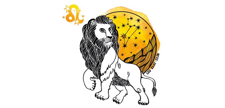 Мужской гороскоп на год - Лев