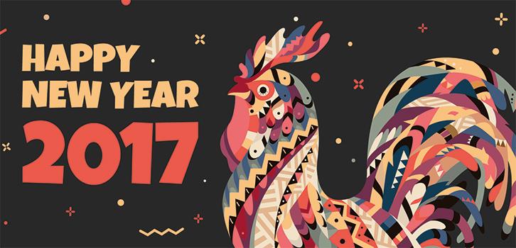 Стихия ицвет, которые принесут вам удачу в2017 году