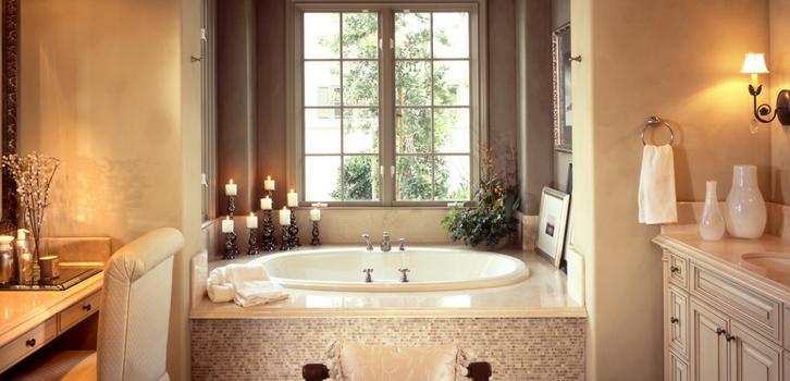 Ванная комната для Скорпионов — место силы, где они черпают свою энергию