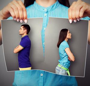 Расклад «Вероятность конца отношений»