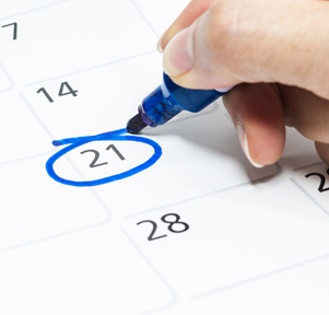 Подбор благоприятной даты для начала дела