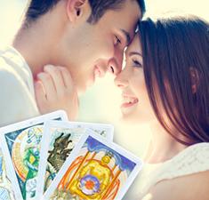 Любовный прогноз на картах Таро