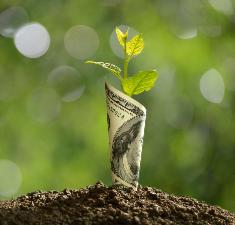 «Зарядка» бумажной купюры на прибыль