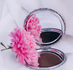 Карманное зеркало: создание амулета наснятие негатива